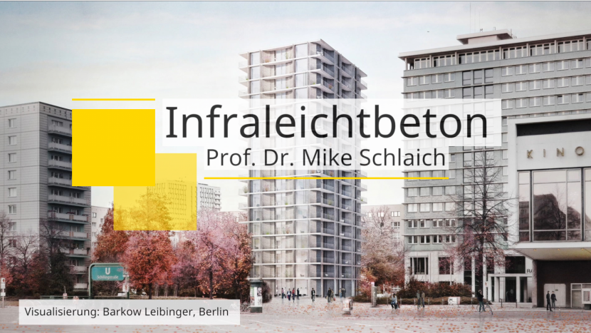 Infraleichtbeton-Interview-Video mit Prof. Mike Schlaich auf archipinion (Screenshot September 2018)