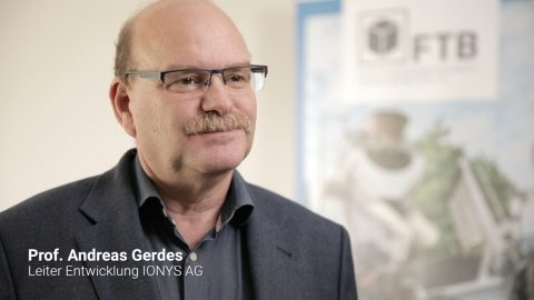 Transportbeton Tage 2019: Prof. Andreas Gerdes, IONYS AG, Karlsruhe