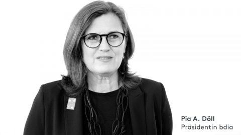 Pia A. Döll, Präsidentin bdia
